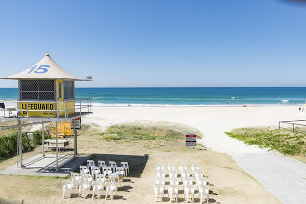 Gold Coast Beach Wedding Ceremony Venue Australia