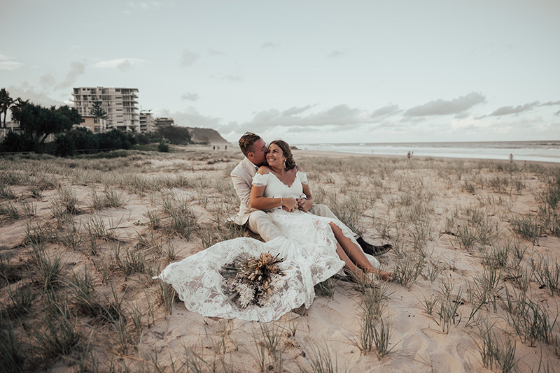 absolute beach front wedding on beach gold coast venue hire